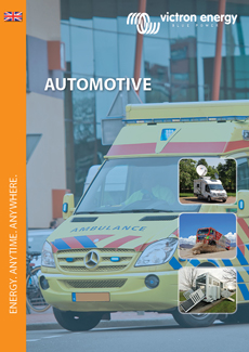 Automotive brochure