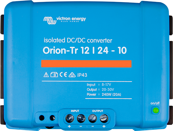 Orion-Tr DC-DC Converters Isolated